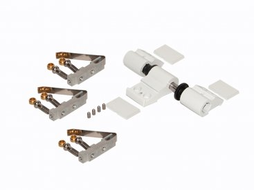 HEAVY HINGE MM 20 3 LEAF (RAL 9010)